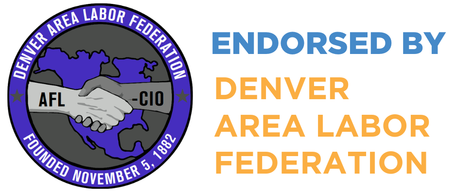 Juan Marcano Endorsed by the Denver Area Labor Federation