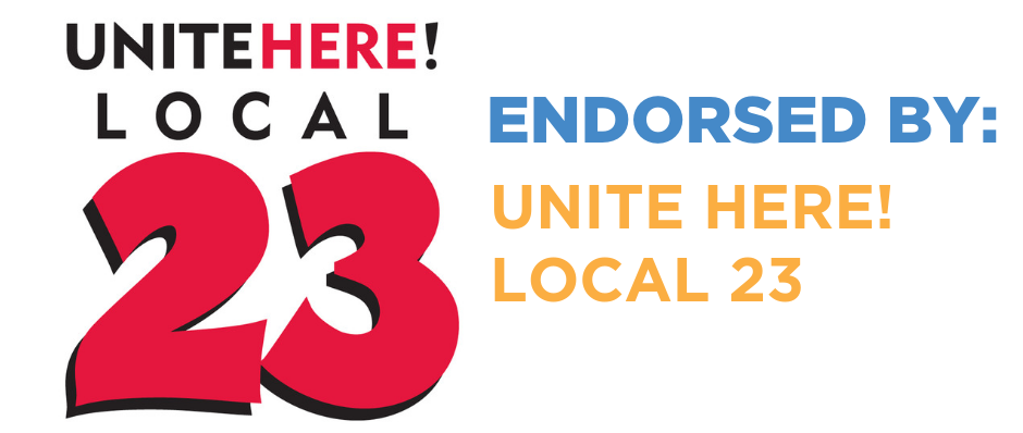Unite Here! Local 23 Endorses Juan Marcano