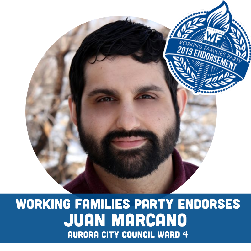 Working Families Party Endorses Juan Marcano