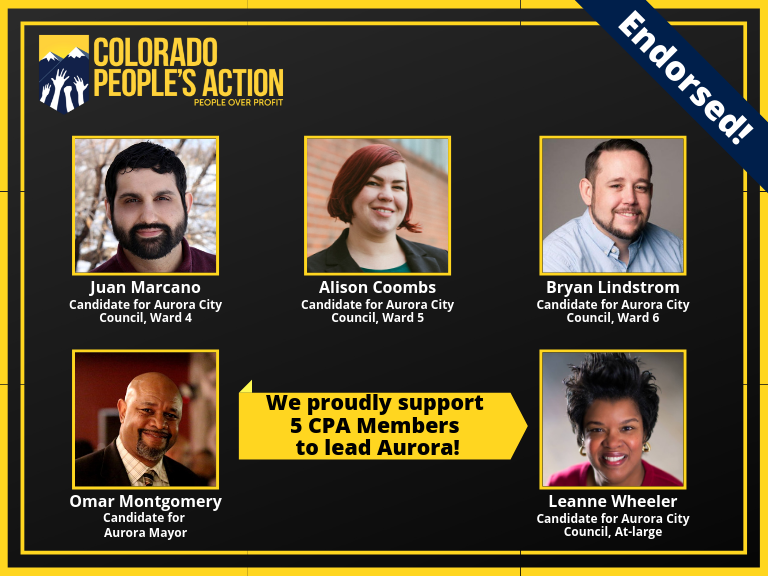 Colorado People's Action Endorses Juan Marcano